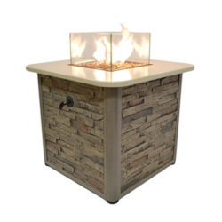 Sunset Bay Outdoor - Square Fire Pit