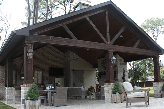 Design Inspirations - Country Style - from the Creekstone Outdoor Living Portfolio