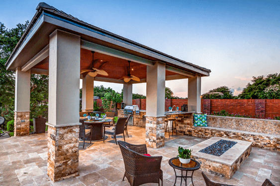 Design Inspirations - Modern Style - from the Creekstone Outdoor Living Portfolio