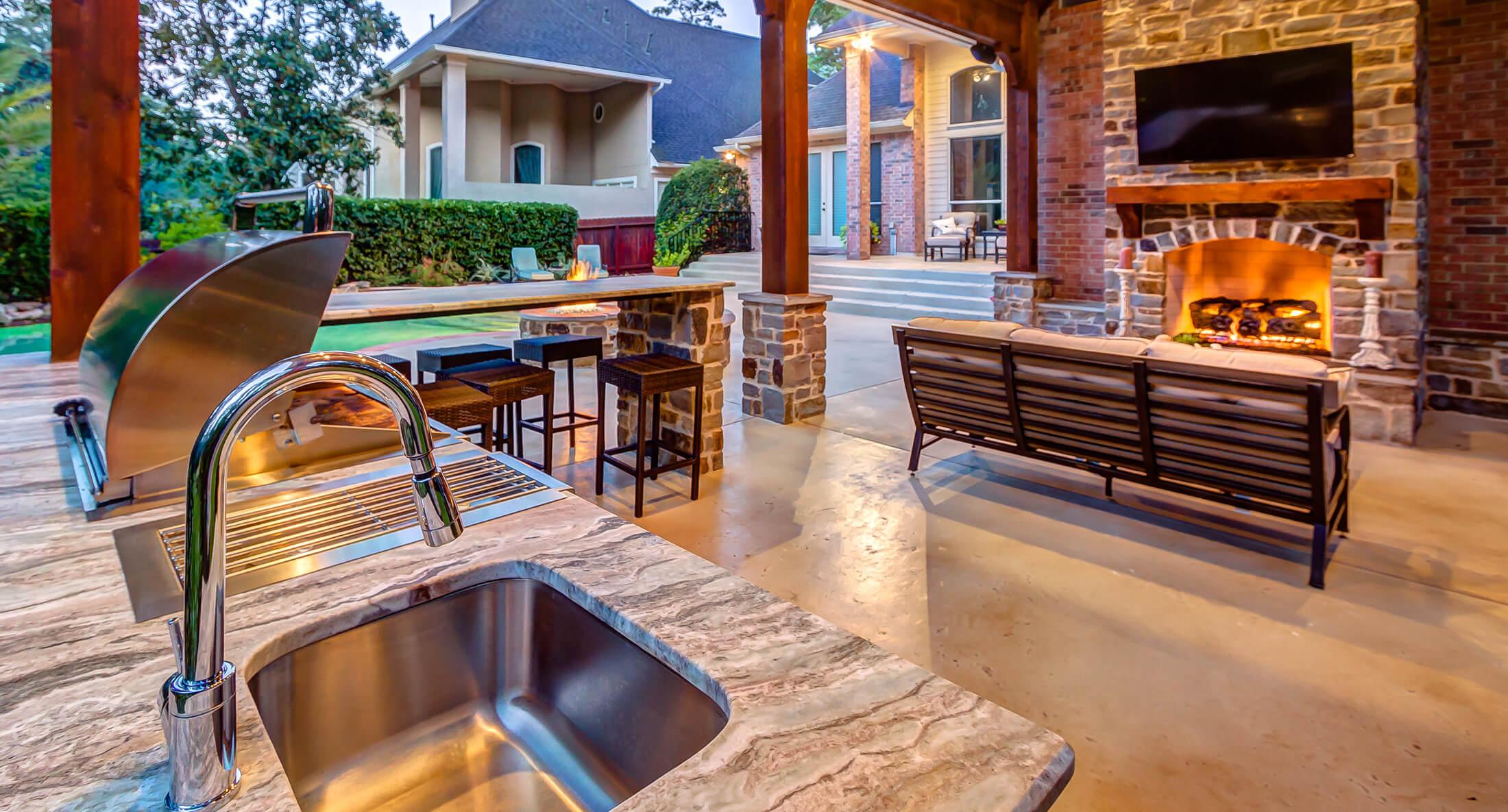 Houston Outdoor Kitchen Design Inspiration Creekstone Outdoor Living Creekstone Outdoor Living