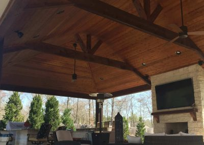 Creekstone Outdoor Living - Patio Cover with full Outdoor Kitchen & Living space -5