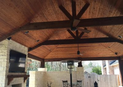 Creekstone Outdoor Living - Patio Cover with full Outdoor Kitchen & Living space -7