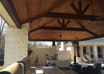 Creekstone Outdoor Living - Patio Cover with full Outdoor Kitchen & Living space -9