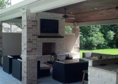 Creekstone Outdoor Living - Cabana with Full Kitchen and Living Room 5