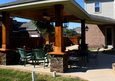 Covered Patio and Outdoor Living Space