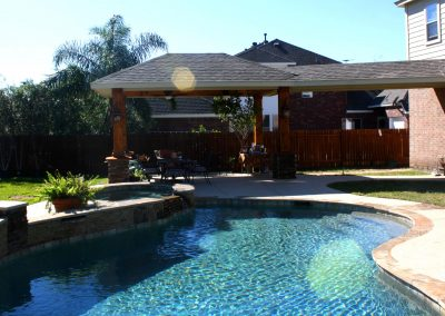 Attached Covered Patio in Houston