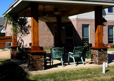 Houston Custom Attached Patio Cover