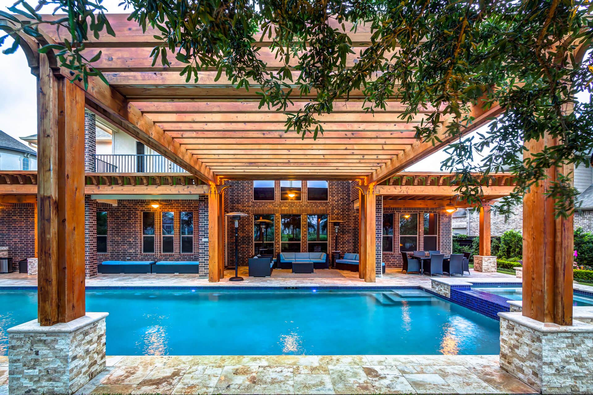 Creekstone Outdoor Living Custom Pergolas in Houston, TX