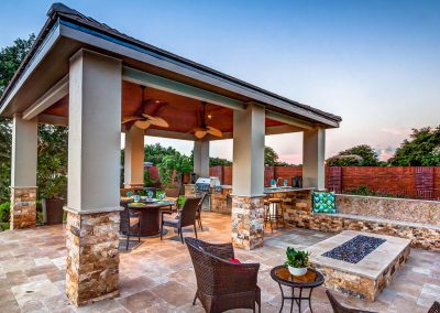 5 Design Tips for Outdoor Living in Houston, Outdoor Kitchen, The Woodlands, TX, Creekstone Outdoors