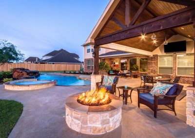 6 Outdoor Features for a Backyard You'll Use All Year, Creekstone Outdoor Living, Spring, TX