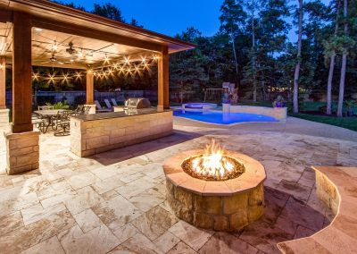 Why Include Fire Features Around Your Swimming Pool? Creekstone Outdoor Living, Spring, TX