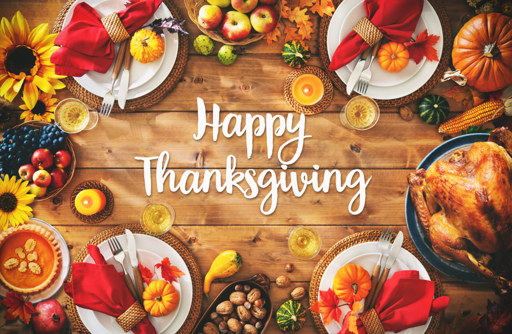 Happy Thanksgiving from Creekstone Outdoors!