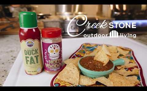 Creekstone Cookout EP13 - Fire Roasted Salsa