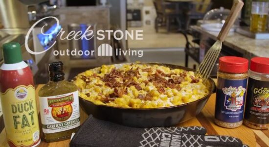 Creekstone Cookout | Smoked Mac N Cheese